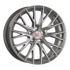 1000-Miglia MM1009 8,0х18 PCD:5x120  ET:42 DIA:72.6 цвет:Silver High Gloss