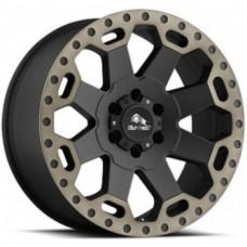 Диски Buffalo BW-200 8,0х17 PCD:5x114,3 ET:35 DIA:72.6 цвет:Matte Black W/Machine Dark Tint Lip