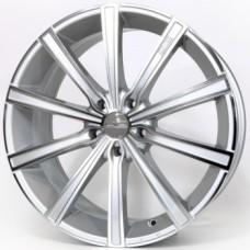 Диски O.Z-Racing Lounge-10 8,0х18 PCD:5x112 ET:48 DIA:75.0 цвет:Metal Sil DiamondCut Matt Dark Gr.