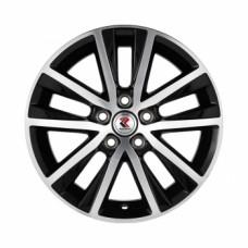 Диски Replikey RK-D022-Volkswagen 6,0х15 PCD:5x100 ET:40 DIA:57.1 цвет:BKF (черный)
