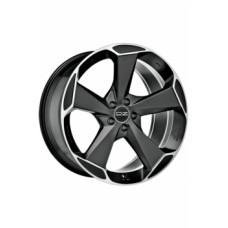 Диски O.Z-Racing Aspen-HLT 9,5х20 PCD:5x112 ET:52 DIA:79.0 цвет:Matt Black Diamond Cut
