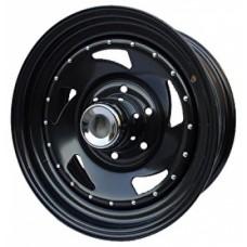 Диски Ikon SNC006 7,0х15 PCD:5x139,7 ET:0 DIA:108.7 цвет:BL (черный глянцевый)